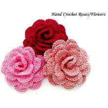 Fleur Crochet Main, Accessoires Au Crochet, Embellissement Au Crochet