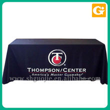 Cheap sublimation satin table cloth for advertising