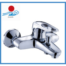 Grifo de la bañera contemporánea con acabado cromado (zr20901)