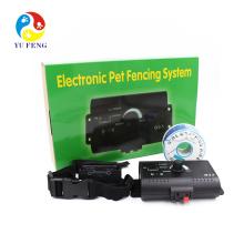 Wasserdichter und wiederaufladbarer elektronischer Hundezaun mit verstellbarem Kragen