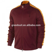 Latest attractive design for men' s sport shirt bomber jacket