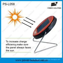 Qualifizierte Solar Schreibtischlampe mit 2 Jahren Garantie Rechargeble Batterielicht