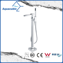 Free Standing Bath Shower Stand Pipe/Faucet (AF6015-2H)