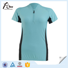 Breathable Dame Cycling Jersey Großhandel Fahrradbekleidung
