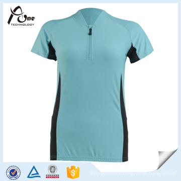 Bicycle Jersey Sportswear Team Cycling Wear with Zipper
