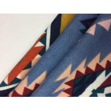 Tissu Brossé Polyester Spandex Hacci