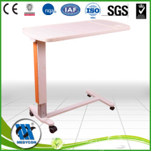 BDCB22 Luxury Hospital Over bed Table with ABS board of gas spring system
