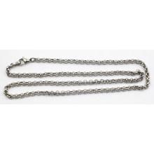 Fábrica de atacado prata de aço inoxidável Pearl Chain