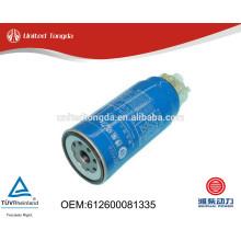 Filtro de combustível genuíno weichai 612600081335