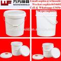 Les seaux en plastique de conception faite sur commande d'OEM avec des couvercles moulent le baril en plastique d'injection de la Chine d'approvisionnement en ventes