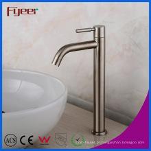 Faucet do vaso do banheiro do aço inoxidável do corpo alto 304 de Fyeer