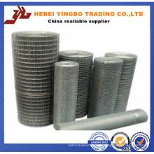 Hecho en China Tejido SUS304 Malla de alambre de acero soldado con autógena