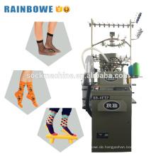 China einzelne Zylinder benutzerdefinierte Socken produzieren Maschine Deutschland zu weben Socke