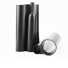 Черный клей выстроились средней стены тепло Термоусадочные трубки для изоляции кабеля защиты
