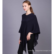 2017 winter ladies sweater fashion women wear cotton knitted poncho