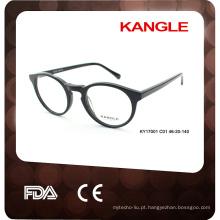 Óculos óculos ópticos de acetato de venda quente feitos na China