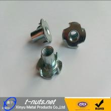 DIN1624 4 زنكي مطلي بالزنك المحملة للأثاث