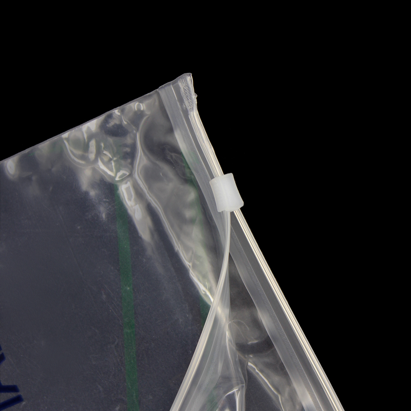 Poly PE Clear Zipper Bag Self Resealable Plastic