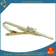 2015 Custom Imitation Gold Beschichtung Soft Enamel Krawatte Clip