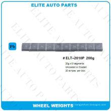 Peso de equilíbrio de roda 200g para roda de carro