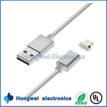 Sync Ladegerät und Daten 2 In1 Magnetisches USB Kabel für Anfroid / iPhone ISO