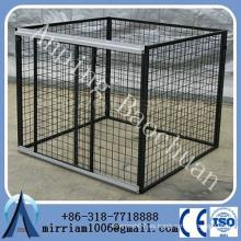 Cuerda de perro soldado alambre / jaula de perro portátil al aire libre grande