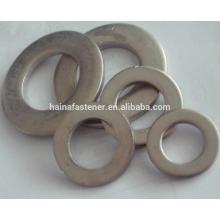 Rondelles plates en acier inoxydable