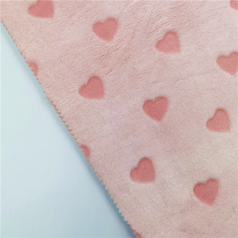 Customized Knitted Flannel Fabric