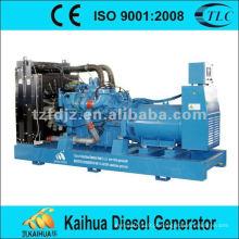 Grupo de gerador diesel de 900KVA MTU 16V2000G25