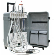 High Volume Suction Portable Dental Units with Curing Light and Scaler