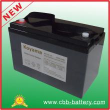 Batería profunda del ciclo AGM de 12V 110ah para la movilidad del RV / médica