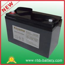 Bateria profunda do ciclo AGM de 12V 110ah para o rv / mobilidade médica