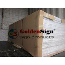 Goldenesign 18mm weißes PVC-Brett, Foamex-Platte, integrales Haut-Schaum-PVC-Blatt