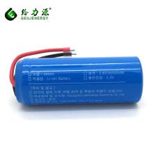 OEM ciclo profundo kc 500 mah 26650 li-ion 3.7 v bateria recarregável de iões de lítio