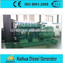Elektrischer Dieselgenerator 600kw Yuchai stellt chinesischen Motor ein