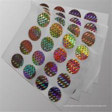 Одноразовая лазерная голографическая пленка Basilemma Metallization