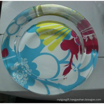 Glass Round Shape Smoking Set