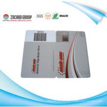Plastikdruck Barcode Karte / Tintenstrahldruck Bar Karte / UV Druck Bar Code