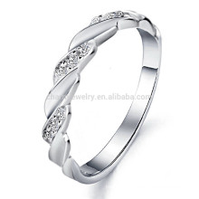 2014 new jewelry wholesale fashion trend exquisite boutique selling men's white gold ring DJ911