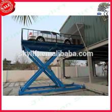 Elevadores de tesoura hidráulica de serviço de carro
