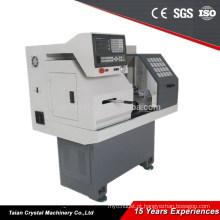 máquina do torno do cnc da instrução para as escolas, máquina ferramenta CK0632A