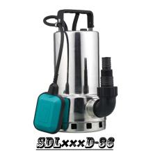 (SDL400D-36) Novo Design melhor qualidade aço inoxidável água suja bomba submersível com interruptor de boia
