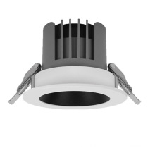 Commercial hotel recessed aluminum 3w  9w 12w 15w 20w led downlight hole size round dimmable