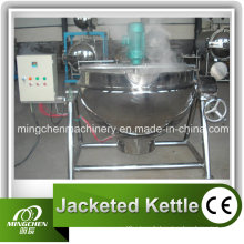 Bouilloire chauffante à vapeur avec agitateur