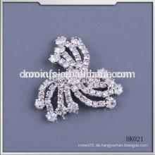 Art und Weise Kristallrhinestoneflecken nähen auf Kleid
