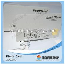 Pre-print laminated plastic sheet