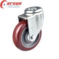 Ruedita giratoria para servicio mediano de 90 mm con freno lateral