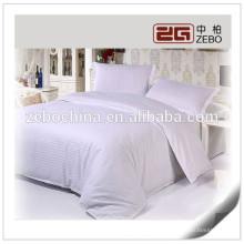 100% Algodão 1cm Stripe Cheap Linen tecido de linho Fabricante