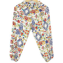 Calças de moda infantil para usar na sala de ar condicionado