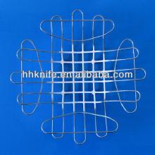 Venta caliente diseño moderno alambre de metal cesta de frutas